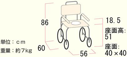シャワーチェアNH-50